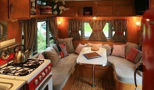 Amazing Rv Decorating Ideas For Your Enjoyable Trip09