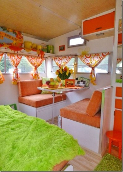 Amazing Rv Decorating Ideas For Your Enjoyable Trip13