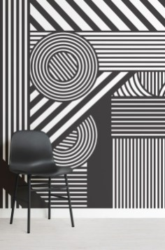 Awesome Striped Painted Wall Design And Decorating Ideas06