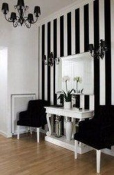 Awesome Striped Painted Wall Design And Decorating Ideas17