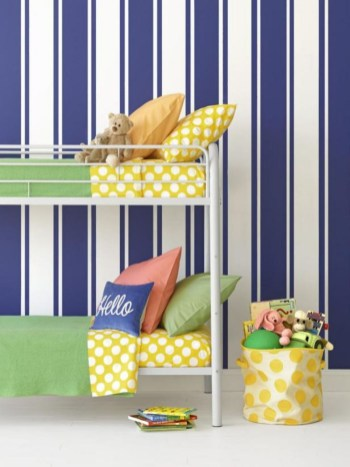 Awesome Striped Painted Wall Design And Decorating Ideas26