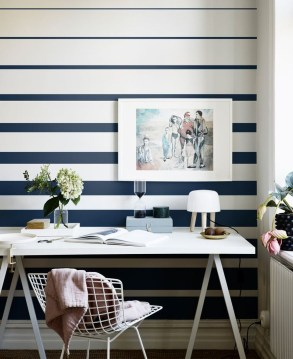 Awesome Striped Painted Wall Design And Decorating Ideas33