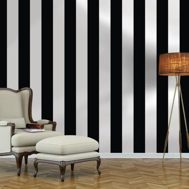 Awesome Striped Painted Wall Design And Decorating Ideas36
