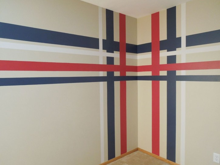 Awesome Striped Painted Wall Design And Decorating Ideas39