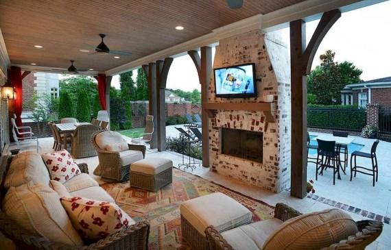 Beautiful Outdoor Living Decoration Ideas43