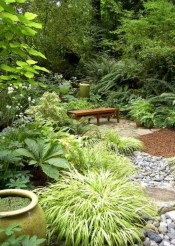 Beautiful Shady Gardens Design Ideas14