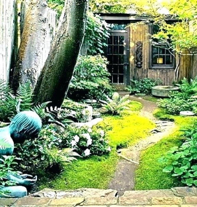 Beautiful Shady Gardens Design Ideas27