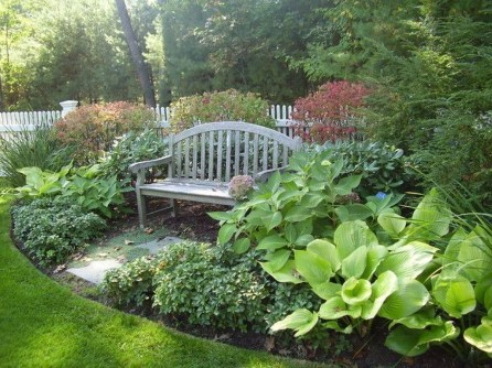 Beautiful Shady Gardens Design Ideas34