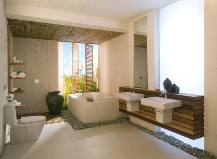 Best Bathroom Decorating Ideas For Comfortable Bath29