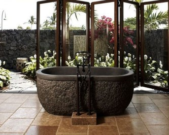 Best Natural Stone Floors For Bathroom Design Ideas10