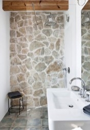 Best Natural Stone Floors For Bathroom Design Ideas19