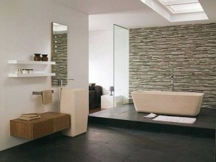 Best Natural Stone Floors For Bathroom Design Ideas24