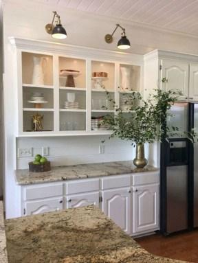 Charming Kitchen Cabinet Decorating Ideas06