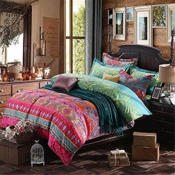Chic Boho Bedroom Ideas For Comfortable Sleep At Night19