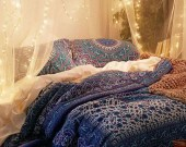 Chic Boho Bedroom Ideas For Comfortable Sleep At Night41