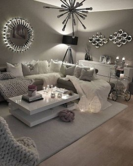 Impressive Apartment Living Room Decorating Ideas On A Budget31