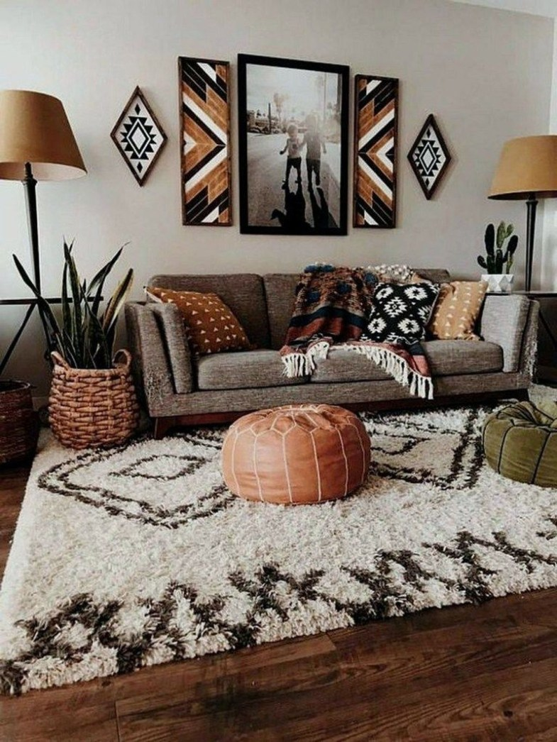 Impressive Apartment Living Room Decorating Ideas On A Budget43