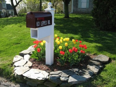 Incredible Flower Bed Design Ideas For Your Small Front Landscaping07