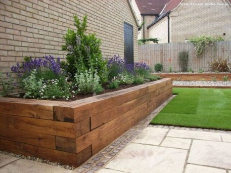 Incredible Flower Bed Design Ideas For Your Small Front Landscaping12