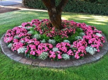 Incredible Flower Bed Design Ideas For Your Small Front Landscaping23