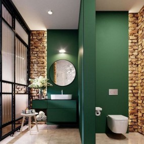 Most Popular Bathroom Color Design Ideas02