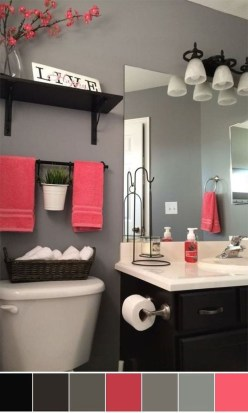 Most Popular Bathroom Color Design Ideas15