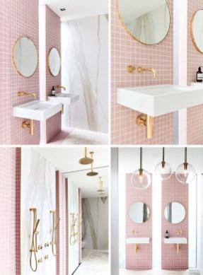 Most Popular Bathroom Color Design Ideas26