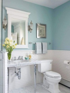 Most Popular Bathroom Color Design Ideas28