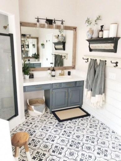 Most Popular Bathroom Color Design Ideas35