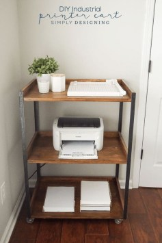 Stunning Diy Portable Office Organization Ideas28