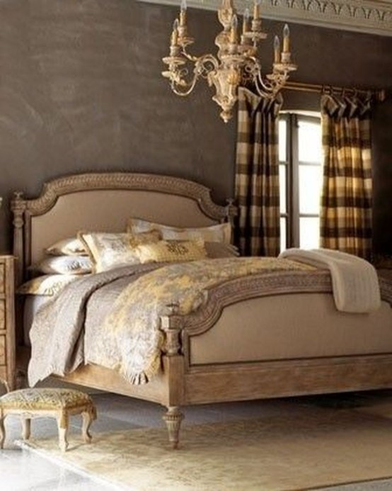 Tuscan Style Bedroom Decorative Ideas That Make Your Sleep Warm18