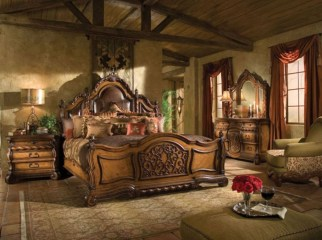 Tuscan Style Bedroom Decorative Ideas That Make Your Sleep Warm22