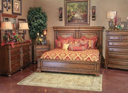 Tuscan Style Bedroom Decorative Ideas That Make Your Sleep Warm27