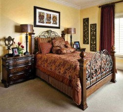 Tuscan Style Bedroom Decorative Ideas That Make Your Sleep Warm44