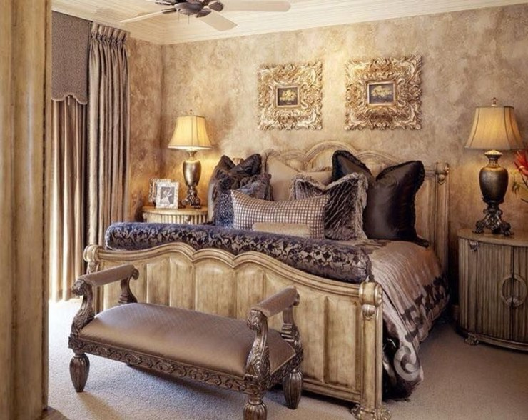 Tuscan Style Bedroom Decorative Ideas That Make Your Sleep Warm45