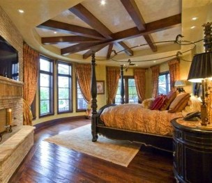 Tuscan Style Bedroom Decorative Ideas That Make Your Sleep Warm50