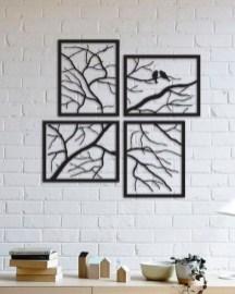 Unique Wall Decor Design Ideas For Living Room01