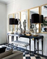 Wonderful Black White And Gold Living Room Design Ideas10
