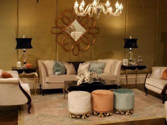 Wonderful Black White And Gold Living Room Design Ideas31