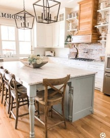 Amazing Modern Farmhouse Kitchen Decoration12
