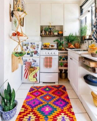 Awesome Bohemian Kitchen Design Ideas For Comfortable Cooking25