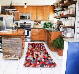 Awesome Bohemian Kitchen Design Ideas For Comfortable Cooking32