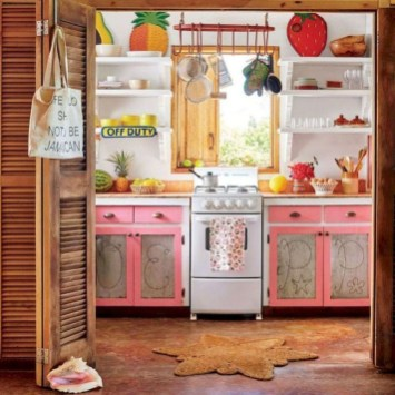 Awesome Bohemian Kitchen Design Ideas For Comfortable Cooking39