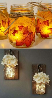 Awesome Diy Mason Jar Lights To Make Your Home Look Beautiful10