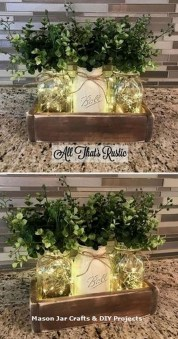 Awesome Diy Mason Jar Lights To Make Your Home Look Beautiful12