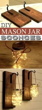 Awesome Diy Mason Jar Lights To Make Your Home Look Beautiful23