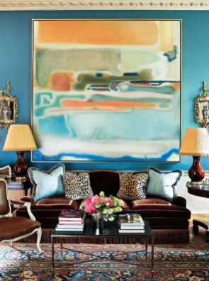 Awesome Wall Paint Color Combination Design Ideas For The Beauty Of Your Home Interior25