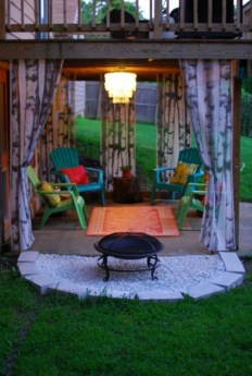 Comfortable Backyard Decoration Ideas For Your Summer17