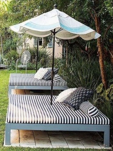 Comfortable Backyard Decoration Ideas For Your Summer31