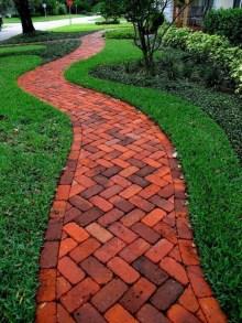 Creative Diy Garden Walkways Ideas For Stunning Home Yard03